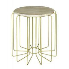 Designer Beistelltisch JOY von POTIRON Metall gold Couch Blumen Pflanzen Tisch