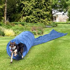 Dog Agility équipement Tunnel pour la formation et l'obéissance avec gratuit sac de transport 5 m