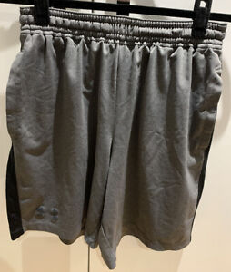 Grey Under Armour Heatgear Shorts (Medium)