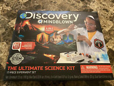 Discovery Kids #MINDBLOWN Ultimate Science Experiment 17 pc Kit