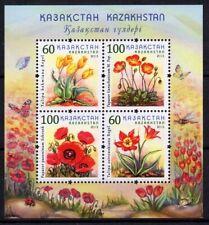 2013 Kazakhstan Flowers MNH