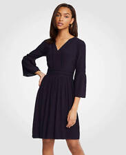 Ann Taylor - Size 18 Dark Sky Blue Cutout Flare Sleeve Dress $149.00 (H)