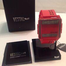 VESTAL WATCH DIGICHORD   RED/POSITIVE DIG023 BRAND NEW
