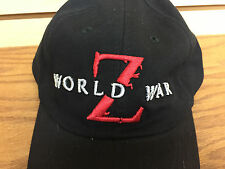 WORLD WAR Z Movie PROMO Adjustable Hat by Paramount Pictures BRAD PITT