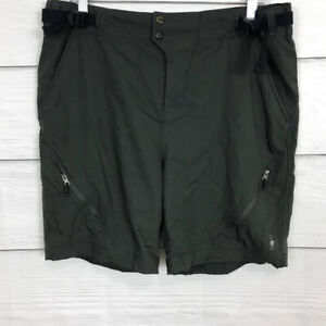 SmartWool Cottonwood Cycling Shorts Size Large L ***NO LINER*** Women's Gray