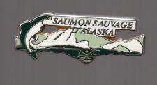 Pin's saumon sauvage d'Alaska (signé Arthus Bertrand)