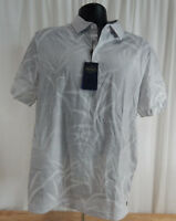 NWT Men's Nat Nast Cotton Blend Short Sleeved Polo Shirt w/3 Button Plackets