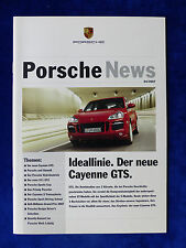 Porsche News 04/2007 - 911 GT2 Cayenne GTS - Prospekt Brochure 10.2007