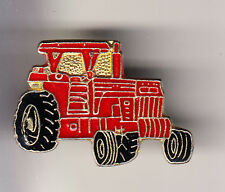 RARE PINS PIN'S .. AGRICULTURE TRACTEUR TRACTOR MF ROUGE MASSEY FERGUSSON ~CH