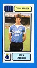 FOOTBALL 83 BELGIO Panini -Figurina-Sticker n. 92 - SANDERS - CLUB BRUGGE -New