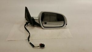 2008-2014 AUDI A5 PASSENGER RIGHT MIRROR 6 WIRES SILVER OEM 08-14