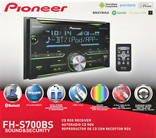 PIONEER FH-S700BS 2-DIN AM/FM/CD RECEIVER SATELLITE READY BLUETOOTH