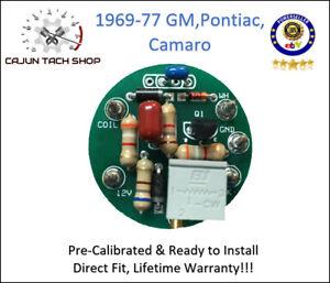NEW!  69-77 GM, Pontiac, Camaro Tachometer Circuit Board ~ Direct Replacement!