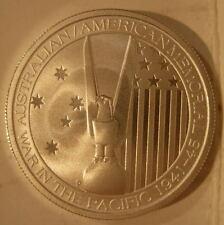 Australia 2013 Silver 1/2 oz 50 Cents UNC Australian/American Memorial