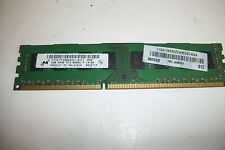 Micron 2GB DIMM DDR3 Desktop PC3-8500 8500 1066MHz 240pin Ram Memory - DS