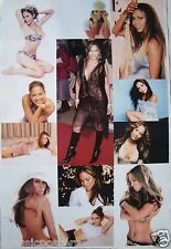 """JENNIFER LOPEZ """"COLLAGE OF SEXY, HOT SHOTS"""" POSTER FROM ASIA - Latin Pop Music"""