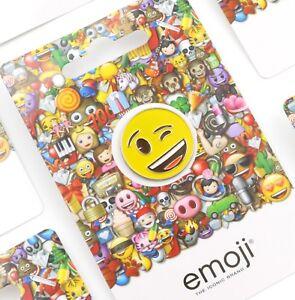 EMOJI Pin Badge - 10 Designs - Officially Licensed
