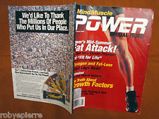 Rivista bodybuilding magazine MIND & MUSCLE power mind&muscle july august 2000