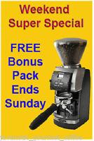 Baratza Vario 886 Coffee Espresso Grinder + FREE COFFEE - SALE Ends Sunday!