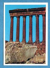 LA TERRA - Panini 1966 - Figurina-Sticker n. 259 - TEMPIO DI GIOVE LIBANO -Rec