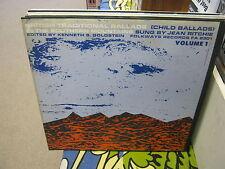 British Traditional Ballads Volume 1 vinyl LP 1961 Folkways Records Jean Ritchie