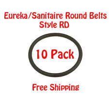 10 EUREKA/SANITAIRE ROUND BELTS - STYLE RD