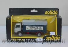 N916 SOLIDO CAMION BACHE 384 MERCEDES TRANSPORTS Nf Bt