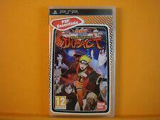 psp NARUTO SHIPPUDEN Ultimate Ninja Impact *x Playstation PAL UK REGION FREE