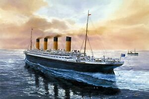 RMS Titanic - Iconic Ship History Wall Art Large Poster / Canvas Picture Prints