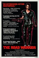 THE ROAD WARRIOR (1981) ORIGINAL STYLE B MOVIE POSTER  -  FOLDED