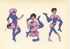 POSTCARD / CARTE POSTALE / ILLUSTRATEUR / DUBOS PICHARD CAROLINE CHOLERA 1983