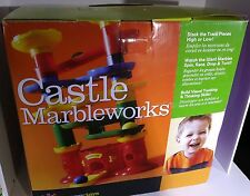 New In Box Discovery Toys # 1756 Castle Marbleworks Marble Run Playset
