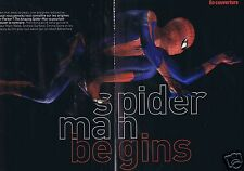 Coupure de presse Clipping 2012 Andrew Garfield Spiderman, Emma Stone (8 pages)