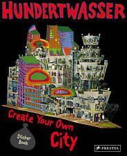 Hundertwasser Create You Own City: Sticker Book,Hundertwasser,Excellent Book mon
