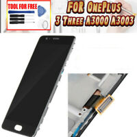 For OnePlus Three 1+3 A3000 A3003 LCD Display Touch Screen Digitizer + Frame