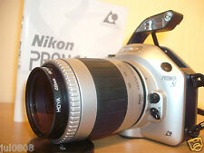 NIKON PRONEA S QUARTZ DATE SLR FILM CAMERA & 60-180MM IX NIKKOR LENS~FILTER J19