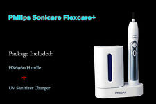 Philips Sonicare Flexcare+ Toothbrush HX6960 Handle +UV Sanitizer Charger