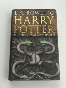 Harry Potter and the Chamber of Secrets, J. K Rowling. Adult Hardback Edition