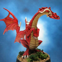 Painted RAFM Miniatures Fire Dragon
