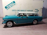 Danbury Mint 1955 Chevy Nomad Bel Air Station Wagon 1:24 Scale Diecast Model Car