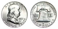 1961-D Franklin Half Dollar Brilliant Uncirculated- BU