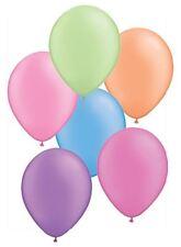 "25 x 11"" Round assorted Neon Latex balloons - 76635"