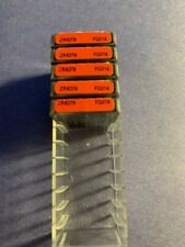 Lot Of Brasseler Dental Burs25 Carbide Burs 5 Boxes Red Fg014 Zr6379