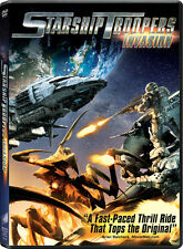 Starship Troopers: Invasion [Includes Digital Copy] [Ultra (2012, DVD NIEUW) AWS