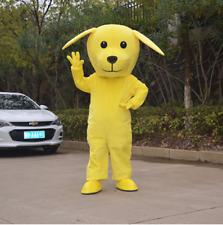 Yellow Dog Year Clothing Mascot Costume Fancy Dress Festival Complete Unisex UK