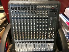 Mackie Onyx 1620 Mixer with Fire wire card 16 channel