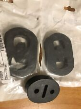 Classic Saab 900 Turbo 3 Piece Rubber Exhaust Pipe & Muffler Hanger Set