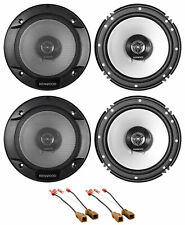 Kenwood Front+Rear 6.5 Speaker REPLACE Kit For 02-06 Nissan Altima Sedan