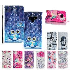 For Samsung Galaxy A10e A20 A30 A50 A70 A80 Cute Flip Leather Wallet Case Cover