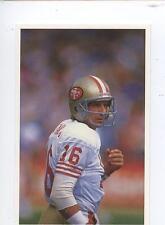 Scarce Trade Card of Joe Montana, American Football 1991 Series 2